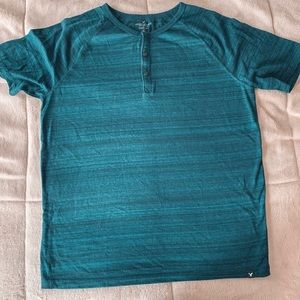 AEO seriously soft men's Henley